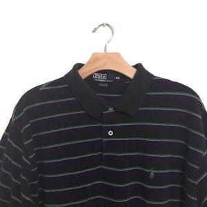 🔥Vintage Polo Ralph Lauren Striped Collar Shirt